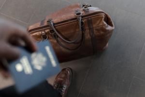 reisetasche leder passport